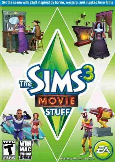 Descargar The Sims 3 Movie Stuff [MULTI10][ADDON][P2P] por Torrent